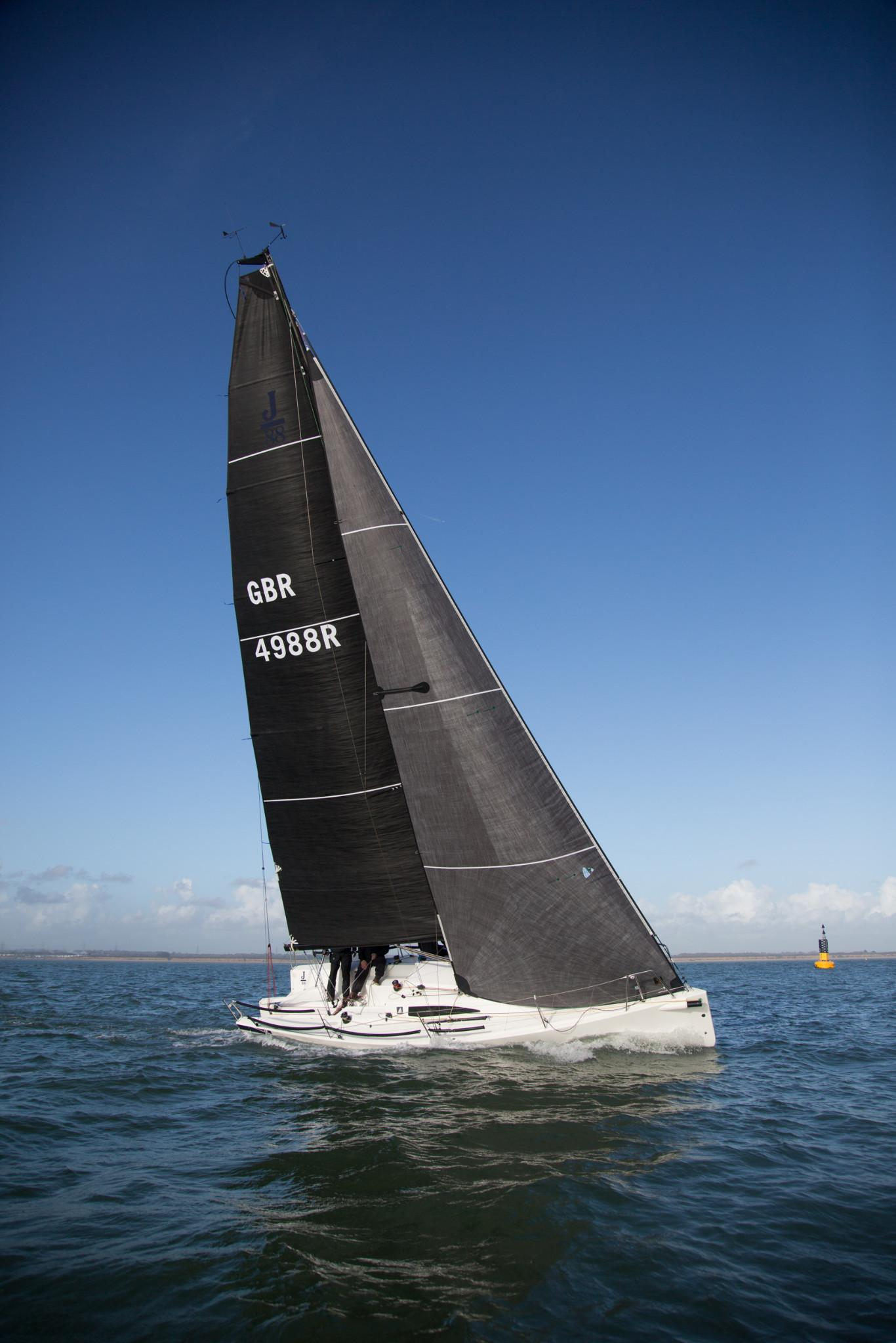 Grand prix sailing | Yacht sails for IRC and IRM Racing | Hyde Sails Ltd