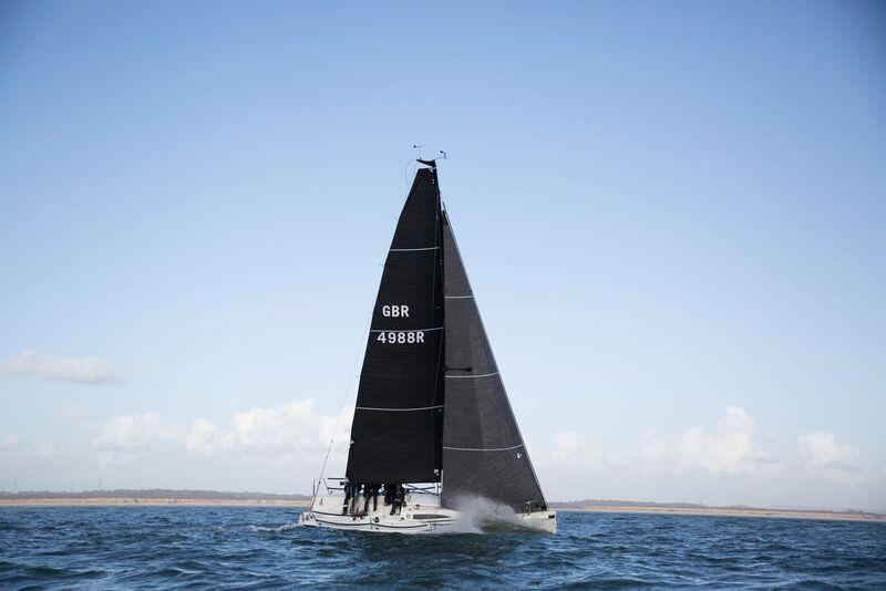 Grand prix sailing   Yacht sails for IRC and IRM Racing   Hyde Sails Ltd