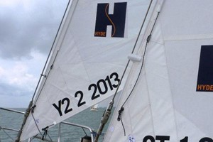 tack fittings for yankee and staysail combination