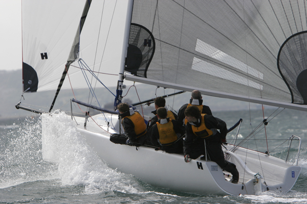 melges team sailing
