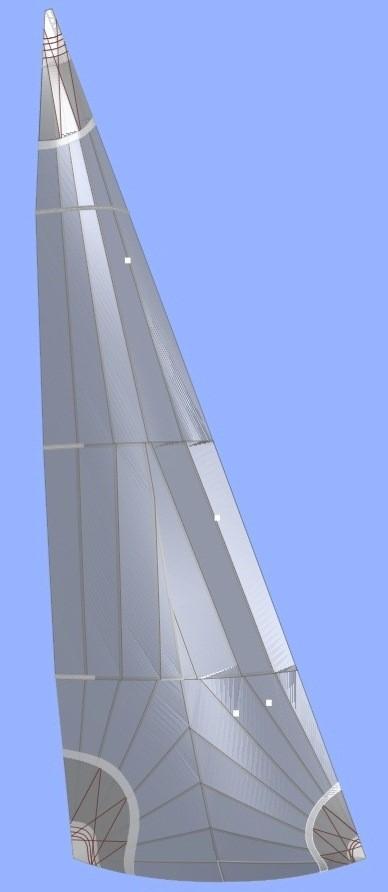 Hunter 707 Headsail