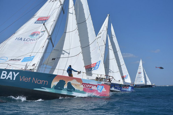 ​CLIPPER RACE EMBARKS ON SOUTHERN OCEAN LEG