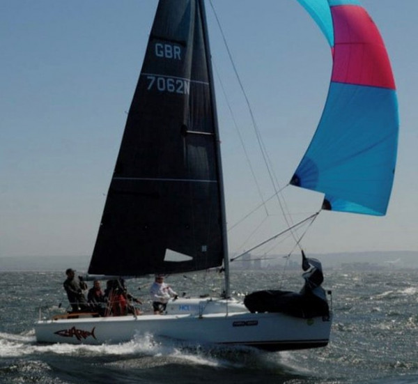 Hyde Sails are now class legal manufacturers for Hunter 707