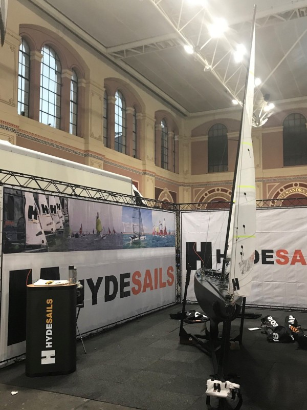 Hyde Sails at RYA Dinghy Show