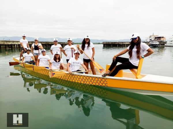 Hyde Sails Cebu's bet hits gold in Dragon Boat Race