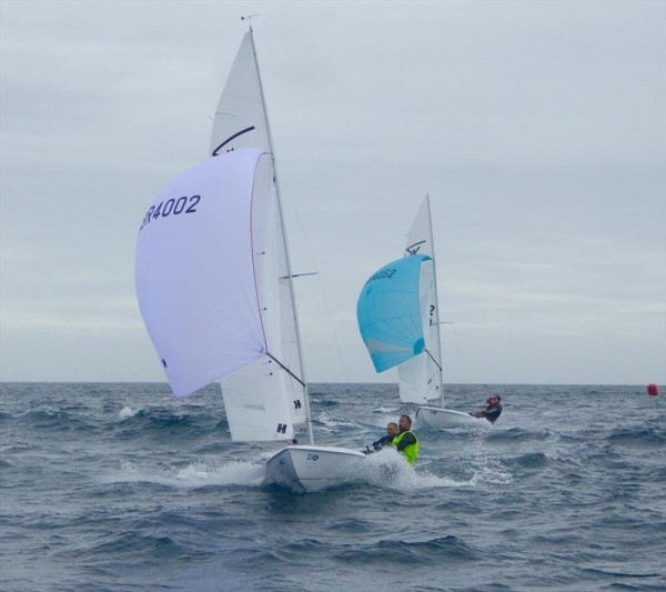 Hyde Sails win at CARRS Land Rover Flying Fifteen UK Nationals