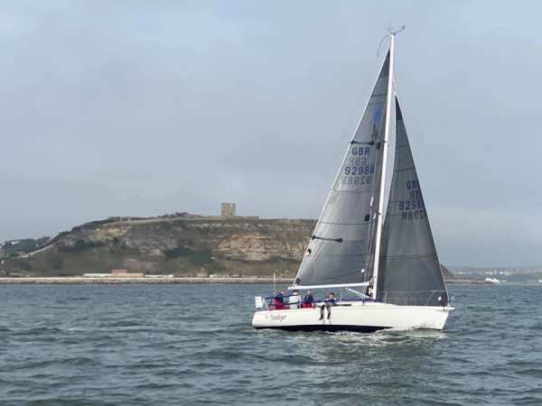 J92 Dodjer 1st place in Regatta Class 1 IRC A at SYC Regatta, Scarborough Yacht Club