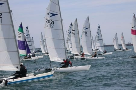 Sprint 15 40th anniversary national championships at weymouth